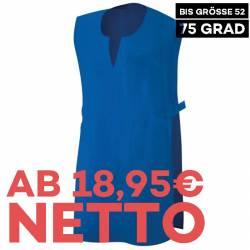 Überwurfschürze 12120 von EXNER / Farbe: royal blau / 65% Polyester 35% Baumwolle - 1