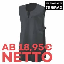 Überwurfschürze 12120 von EXNER / Farbe: schwarz / 65% Polyester 35% Baumwolle - 1