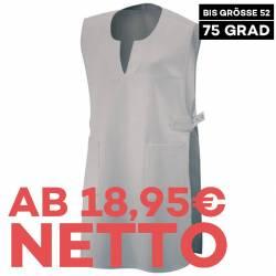 Überwurfschürze 12120 von EXNER / Farbe: silbergrau / 65% Polyester 35% Baumwolle - 1