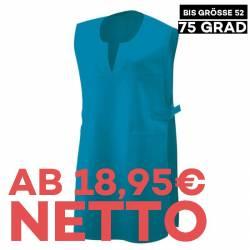Überwurfschürze 12120 von EXNER / Farbe: türkis / 65% Polyester 35% Baumwolle - 1