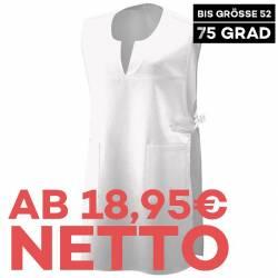 Überwurfschürze 12120 von EXNER / Farbe: weiß / 65% Polyester 35% Baumwolle - 1