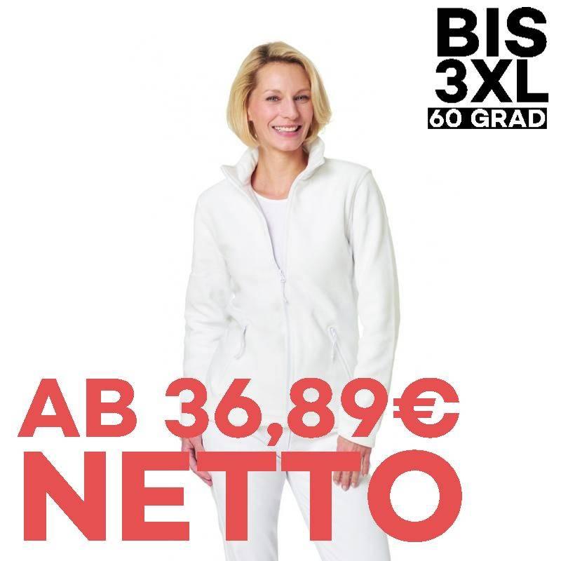 Damen-Fleecejacke 2662 von LEIBER / Farbe: weiß / 100 % Polyester - 1
