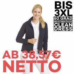 Damen-Sweatjacke 1059 von LEIBER / Farbe: marine / 50 % Baumwolle 50 % Polyester - 1
