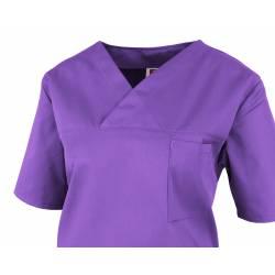 Damen -  Kasack 2651 von MEIN-KASACK.de / Farbe: violett / 65%PES - 35%BW - 170g/m² - 2