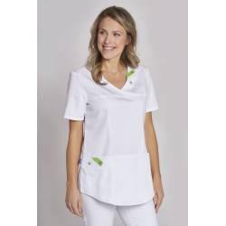 Damen -  Kasack 2794 von LEIBER / Farbe: weiß / 50% Baumwolle, 50% Polyester - 1