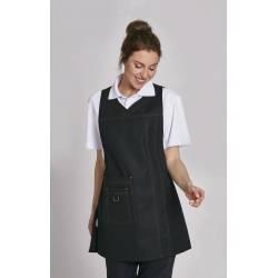 Überwurfschürze 1350 von LEIBER / Farbe: schwarz / 65 % Polyester 35 % Baumwolle - 1