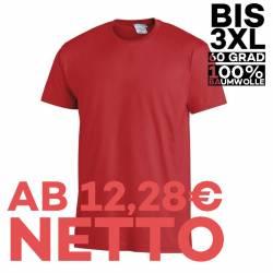 T-Shirt 2447 von LEIBER / Farbe: rot / 100 % Baumwolle - | MEIN-KASACK.de | kasack | kasacks | kassak | berufsbekleidung