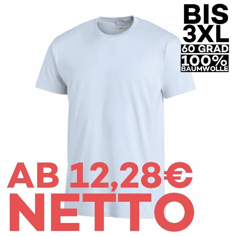 T-Shirt 2447 von LEIBER / Farbe: hellblau / 100 % Baumwolle - | MEIN-KASACK.de | kasack | kasacks | kassak | berufsbekle