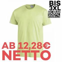 T-Shirt 2447 von LEIBER / Farbe: hellgrün / 100 % Baumwolle - | MEIN-KASACK.de | kasack | kasacks | kassak | berufsbekle