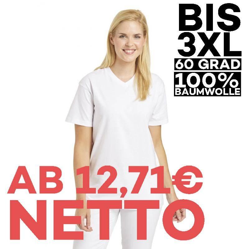 T-Shirt 2448 von LEIBER / Farbe: weiß / 100 % Baumwolle - | MEIN-KASACK.de | kasack | kasacks | kassak | berufsbekleidun