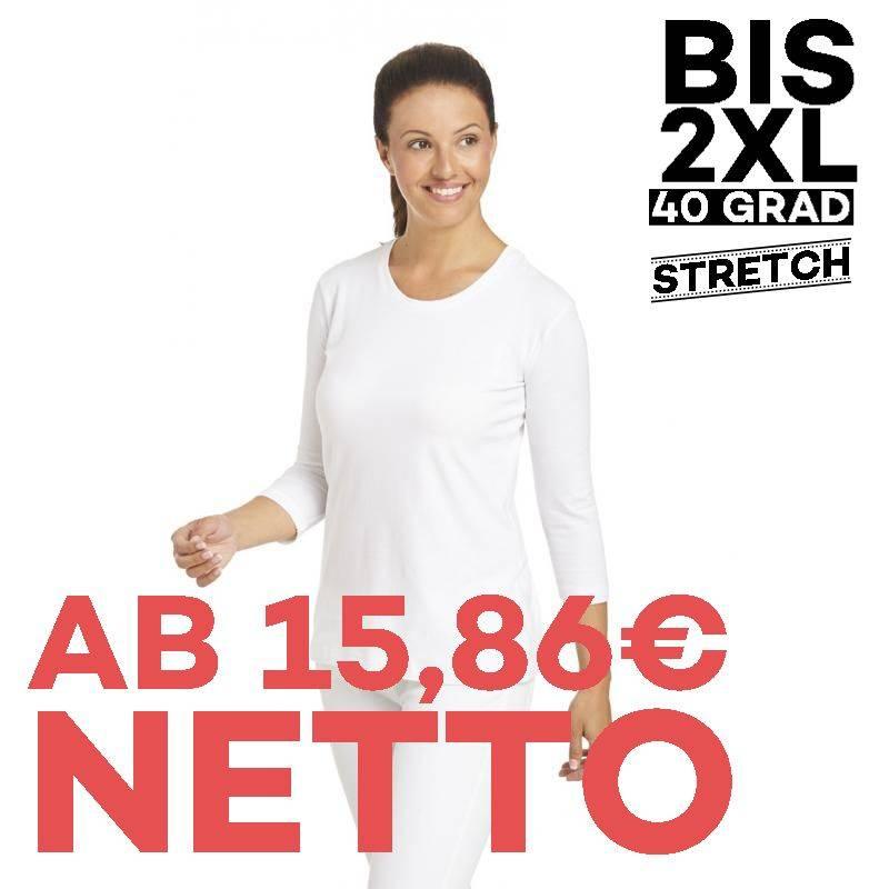 T-Shirt 2529 von LEIBER / Farbe: weiß / 95 % Baumwolle 5 % Elasthan - | MEIN-KASACK.de | kasack | kasacks | kassak | ber