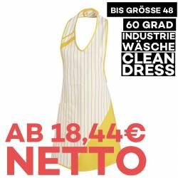 Überwurfschürze 738 von LEIBER / Farbe: weiß-gelb / 65 % Polyester 35 % Baumwolle - | MEIN-KASACK.de | kasack | kasacks