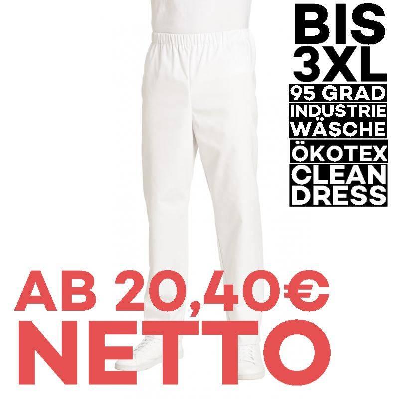 Damen-Schlupfhose 107 von LEIBER / Farbe: weiß / 50 % Baumwolle 50 % Polyester - | MEIN-KASACK.de | kasack | kasacks | k