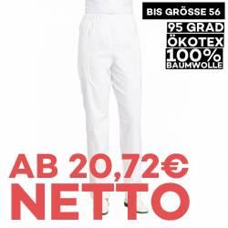 Damenhose 4690  von LEIBER / Farbe: weiß / 100 % Baumwolle Feinköper - | MEIN-KASACK.de | kasack | kasacks | kassak | be