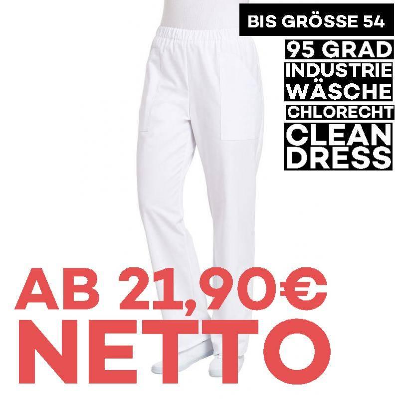 Damen - Schlupfhose 8192 von LEIBER / Farbe: weiß / 35 % Baumwolle 65 % Polyester - | MEIN-KASACK.de | kasack | kasacks