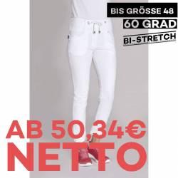 Damen-Schlupfhose - BI-STRETCH - 8340 von LEIBER / Farbe: weiß / 72% Baumwolle - 23% Polyester - 5% Elasthan - | MEIN-KA