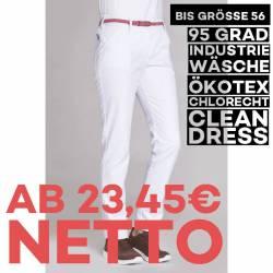 Damen-Schlupfhose 8330 von LEIBER / Farbe: weiß / 35 % Baumwolle 65% Polyester - | MEIN-KASACK.de | kasack | kasacks | k