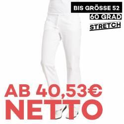 Damenhose - STRETCH - 6830 von LEIBER / Farbe: weiß / 97 % Baumwolle 3 % Elastolefin - | MEIN-KASACK.de | kasack | kasac