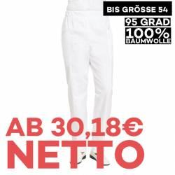 Damenhose 1400 von LEIBER / Farbe: weiß / 100 % Baumwolle Feinköper - | MEIN-KASACK.de | kasack | kasacks | kassak | ber