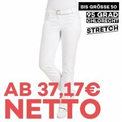 Damenhose 6700 von LEIBER / Farbe: weiß / 97 % Baumwolle 3 % Elastolefin - | MEIN-KASACK.de | kasack | kasacks | kassak