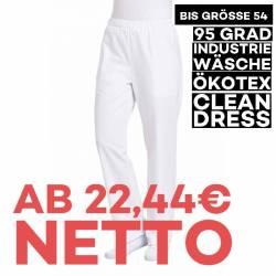 Damenhose 8190 von LEIBER / Farbe: weiß / 65 % Polyester 35 % Baumwolle - | MEIN-KASACK.de | kasack | kasacks | kassak |