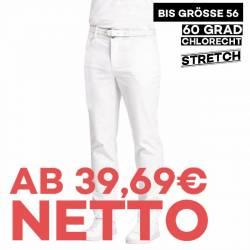 Herren-Jeans - STRETCH - 7060 von LEIBER / Farbe: weiß / 97 % Baumwolle 3 % Elastolefin - | MEIN-KASACK.de | kasack | ka