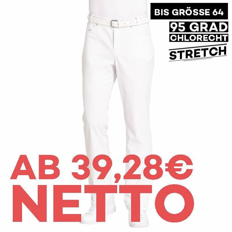Herren-Jeans - STRETCH - 6820 von LEIBER / Farbe: weiß / 97 % Baumwolle 3 % Elastolefin - | MEIN-KASACK.de | kasack | ka