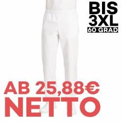 Herren-Schlupfhose 2370 von LEIBER / Farbe: weiß / 65 % Polyester 35 % Baumwolle - | MEIN-KASACK.de | kasack | kasacks |
