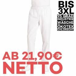 Herren-Schlupfhose 6950 von LEIBER / Farbe: weiß / 65 % Polyester 35 % Baumwolle - 1