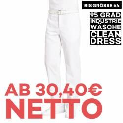 Herrenhose 2120 von LEIBER / Farbe: weiß / 65 % Polyester 35 % Baumwolle - | MEIN-KASACK.de | kasack | kasacks | kassak
