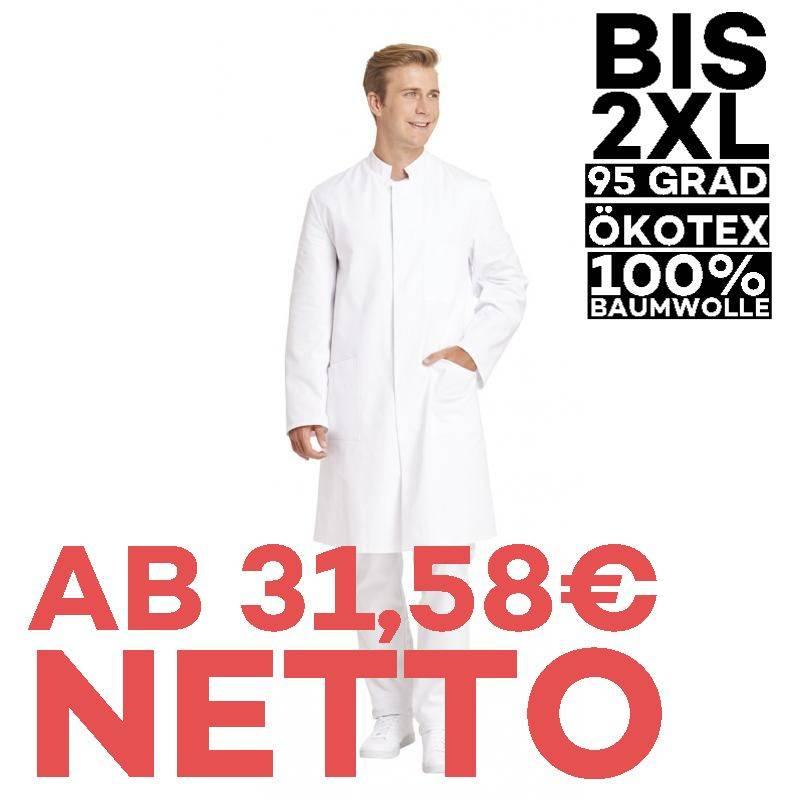 Herrenmantel / Arztkittel / Laborkittel - 797 von LEIBER / Farbe:weiß / 100 % Baumwolle - | MEIN-KASACK.de | kasack | ka