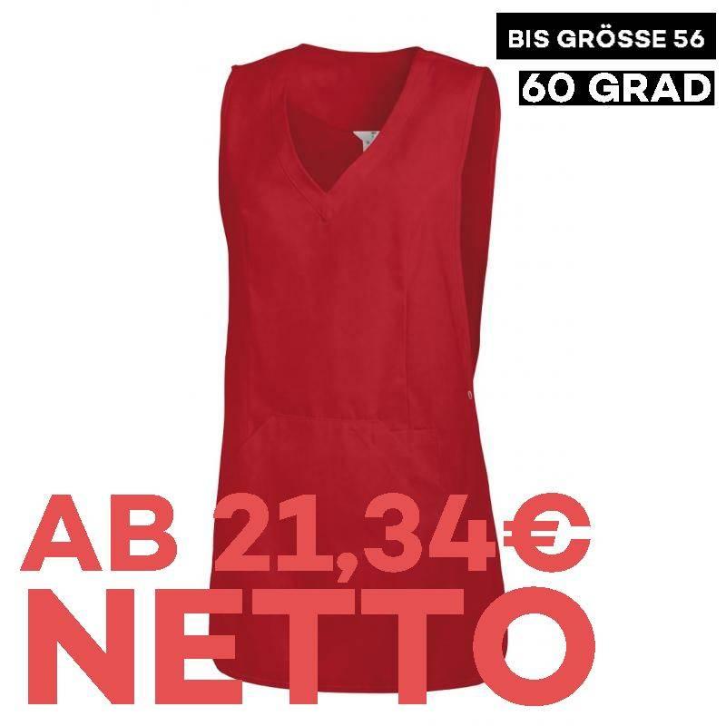 Überwurfschürze 641 von LEIBER / Farbe: rot / 65 % Polyester 35 % Baumwolle - | MEIN-KASACK.de | kasack | kasacks | kass