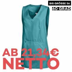 Überwurfschürze 641 von LEIBER / Farbe: petrol / 65 % Polyester 35 % Baumwolle - | MEIN-KASACK.de | kasack | kasacks | k