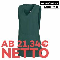 Überwurfschürze 641 von LEIBER / Farbe: bottle green / 65 % Polyester 35 % Baumwolle - | MEIN-KASACK.de | kasack | kasac