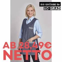 Überwurfschürze / Chasuble 1349 von LEIBER / Farbe: denimblue / 65 % Polyester 35 % Baumwolle - | MEIN-KASACK.de | kasac