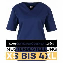 Kompletter Größensatz für Musterbestellung: Damen -  Kasack 2651 von MEIN-KASACK.de / Farbe: marine - 1