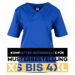 Kompletter Größensatz für Musterbestellung: Damen -  Kasack 2651 von MEIN-KASACK.de / Farbe: kornblau - 1