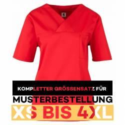 ompletter Größensatz für Musterbestellung: Damen -  Kasack 2651 von MEIN-KASACK.de / Farbe: rot - 1