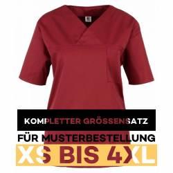 Kompletter Größensatz für Musterbestellung: Damen -  Kasack 2651 von MEIN-KASACK.de / Farbe: weinrot - 1