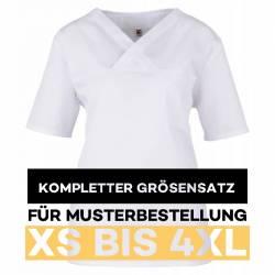 Kompletter Größensatz für Musterbestellung: Damen -  Kasack 2651 von MEIN-KASACK.de / Farbe: weiß - 1