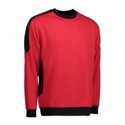 PRO Wear Sweatshirt | Kontrast | 362 von ID / Farbe: rot / 60% BAUMWOLLE 40% POLYESTER - | MEIN-KASACK.de | kasack | kas