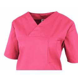 Damen -  Kasack 2651 von MEIN-KASACK.de / Farbe: pink / 65%PES - 35%BW - 170g/m² - 2