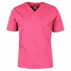 Herren -  Kasack 2651 von MEIN-KASACK.de / Farbe: pink / 65%PES - 35%BW - 170g/m² - 2