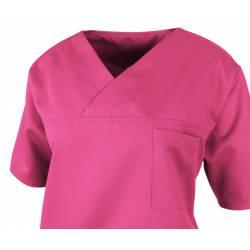 Herren-Kasack / OP - Kasack - 2700 von MEIN-KASACK.de / Farbe: pink / 50%PES - 50%Tencel - 200g/m² - 2
