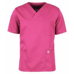 Herren-Kasack / OP - Kasack - 2700 von MEIN-KASACK.de / Farbe: pink / 50%PES - 50%Tencel - 200g/m² - 1
