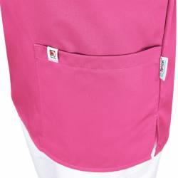 Herren-Kasack / OP - Kasack - 2700 von MEIN-KASACK.de / Farbe: pink / 50%PES - 50%Tencel - 200g/m² - 3