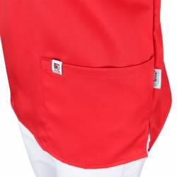 Damen-Kasack / OP - Kasack - 2700 von MEIN-KASACK.de / Farbe: rot / 50%PES - 50%Tencel - 200g/m² - | MEIN-KASACK.de | ka