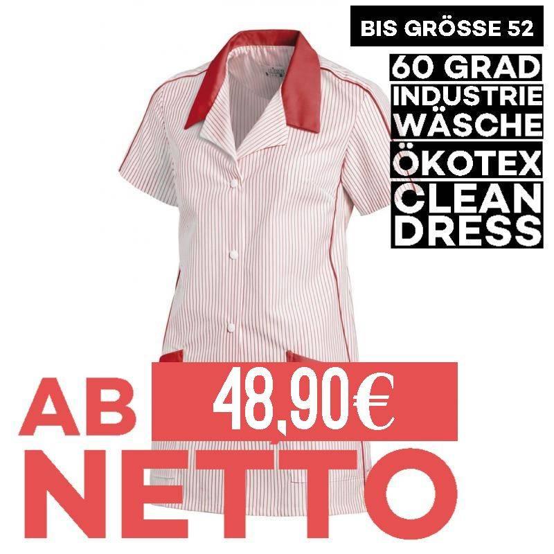 Damen -  Hosenkasack 559 von LEIBER / Farbe: weiß-rot / 65 % Polyester 35 % Baumwolle -   MEIN-KASACK.de   kasack   kasa
