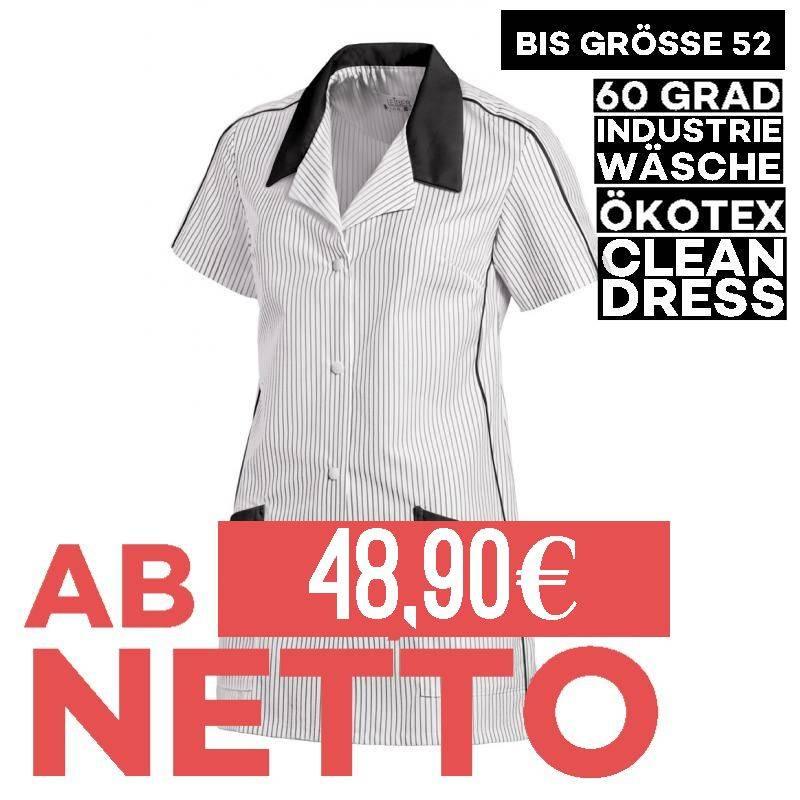 Damen -  Hosenkasack 559 von LEIBER / Farbe: weiß-schwarz / 65 % Polyester 35 % Baumwolle - 1