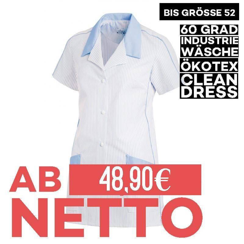 Damen -  Hosenkasack 559 von LEIBER / Farbe: weiß-hellblau / 65 % Polyester 35 % Baumwolle - | MEIN-KASACK.de | kasack |
